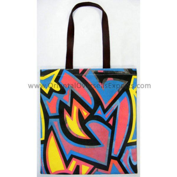Full Color Custom Printed Tote Bag