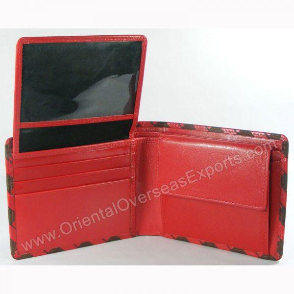 Engraved Unisex Genuine Leather Wallet