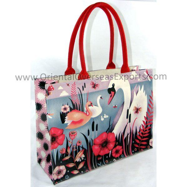 printed canvas bag
