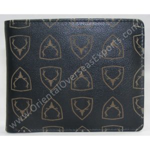Leather Wallet with Calf Finished Nappa Leather.