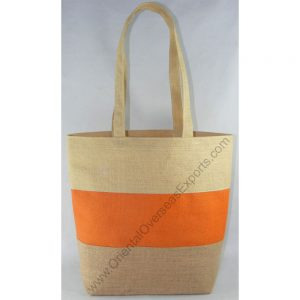 Elegant looking jute bag with Jute Handles
