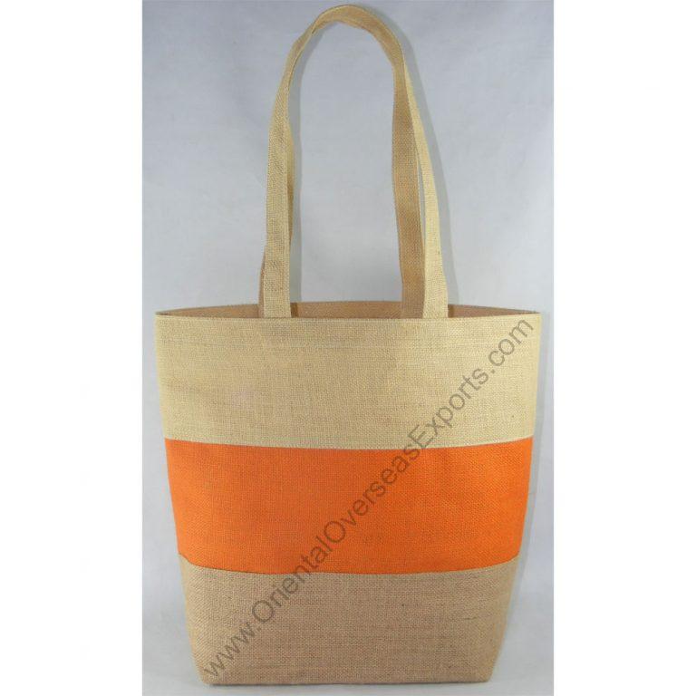Elegant looking jute bag with Jute Handles