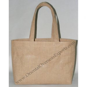 Laminated Jute Bag With Jute Handles