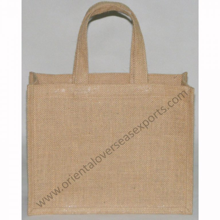 Jute Bag With Jute Handles