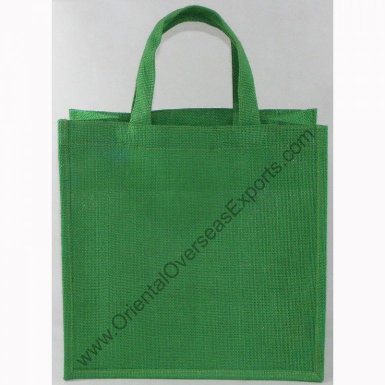 Dyed Jute Bag With Jute Handles,