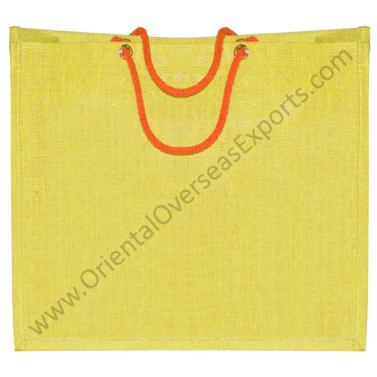 Jute Bag with rope handles