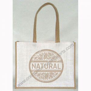 basic jute promotion bag