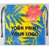 design and buy your own custom digitally printed canvas drawstring pouches online direct from factory based in india
