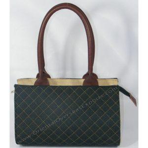 Elegant Looking Quilted Juco (Jute Cotton) Handbag