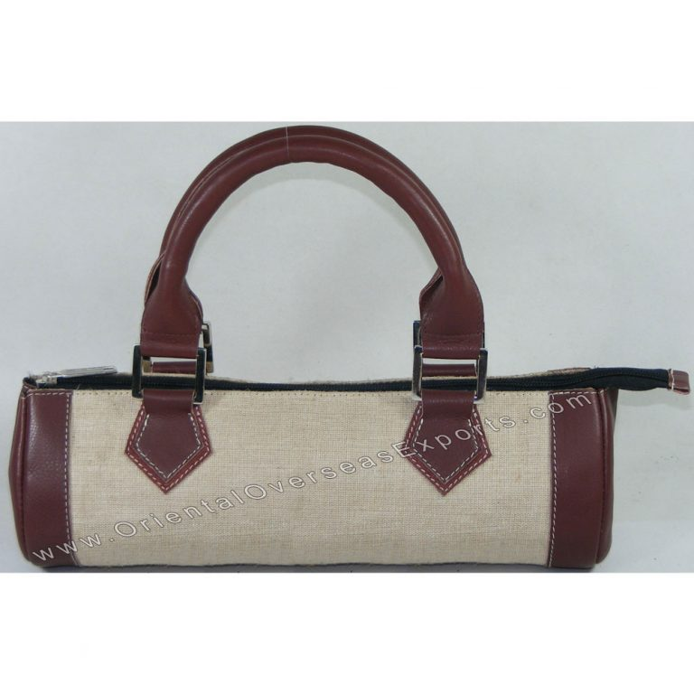 Elegant looking Juco bag with DDDM Leather handles and trims # 2199