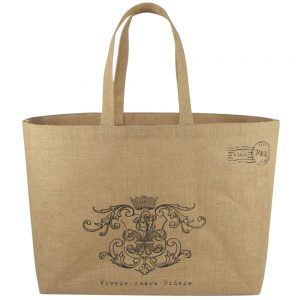 Natural Jute Hessian Bag With Jute Handle