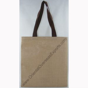 design and buy your own custom printed cheap jute tote bag with cotton handles