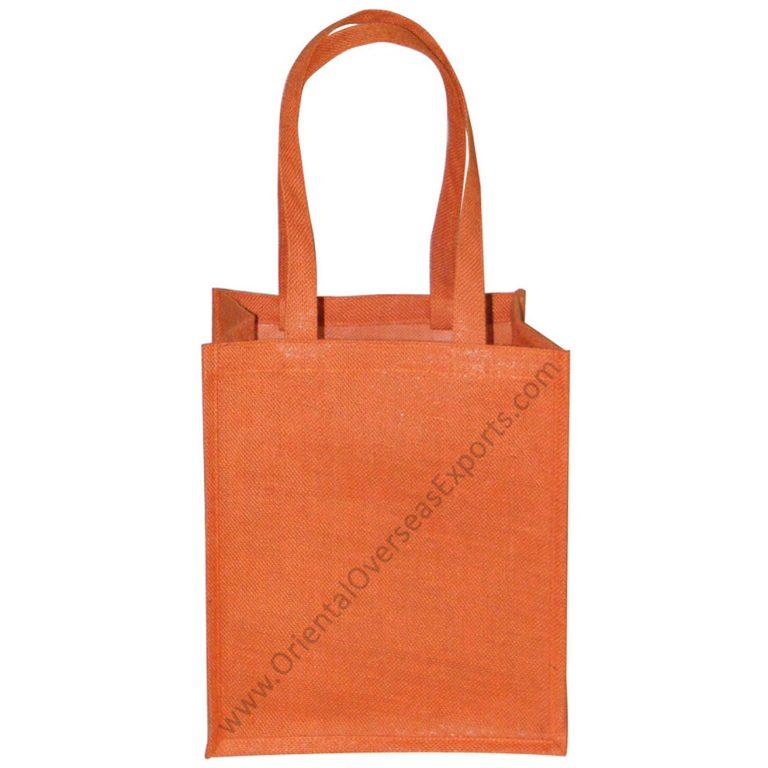 Dyed Jute Bag With Jute Handles