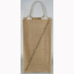 design and buy your own custom printed two bottle wine bags with cotton handles online at wholesale prices