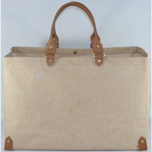 Bags with Leather Handles and Trims