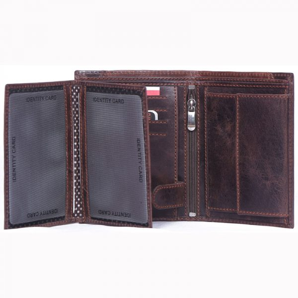 buy custom embossed real crunch leather wallet with multiple card and currency slots online at factory prices direct from manufacturers based in india