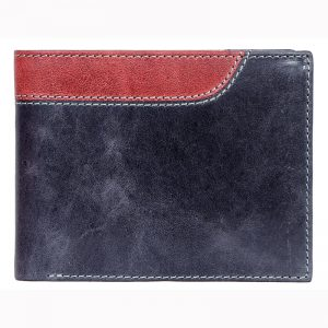 buy custom embossed crunch real leather unisex wallet with multiple card and currency slots online