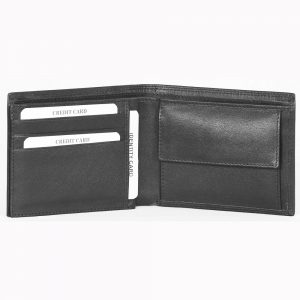 Genuine Leather Wallet # S5741b made fromCow Valentino Nappa Leather with multiple card and currency slots