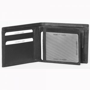 Genuine Leather Wallet S5741b made fromCow Valentino Nappa Leather with multiple card and currency slots