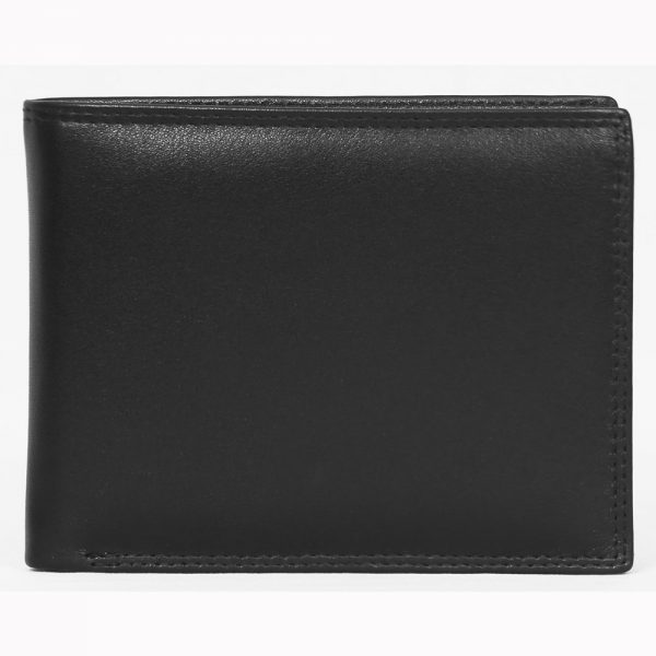 Genuine Nappa Leather Wallet # S200 made fromCow Valentino Nappa Leather with multiple card and currency slots