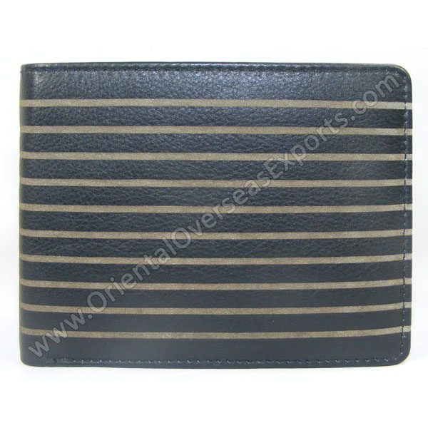 Buy Engraved Nappa Leather Wallet # T1-321A made from Calf Finished Nappa Leather