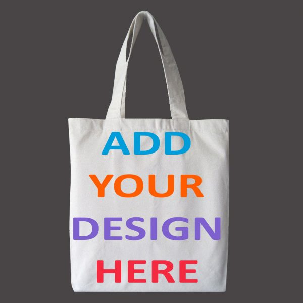 design and buy your own custom printed canvas tote bags online in bulk direct from factory based in india
