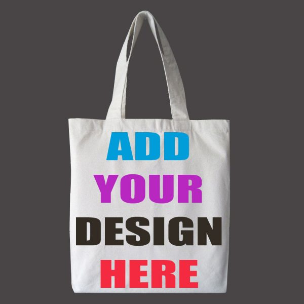 design and buy your own custom printed cotton bag online