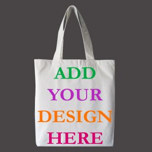 design and buy your own custom printed canvas tote bag online