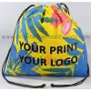 design and buy your own custom printed cotton drawstring pouches online direct from factory based in india