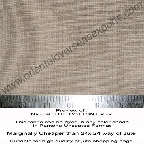 buy natural jute cotton fabric online