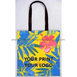 design and buy your own digitally printed canvas tote online at low factory prices