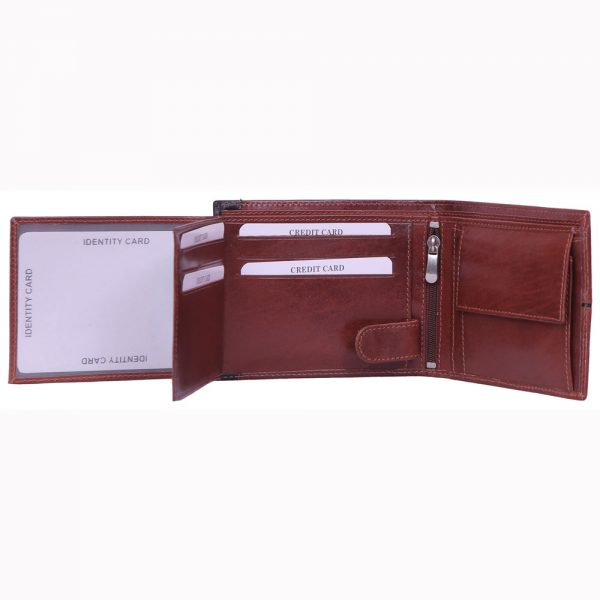 Cow ML Vegetable Tanned Leathe Wallet