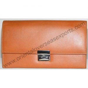 genuine leather waiters purse