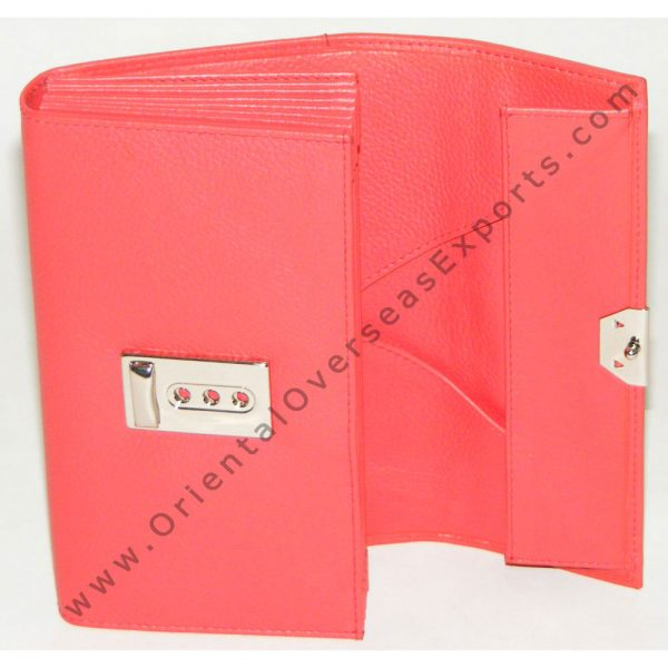 design and buy custom embossed luxury waiters purse made from real leather with multiple currency slots online