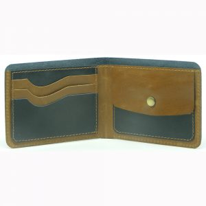 Buffalo Milled VT Leather Wallet