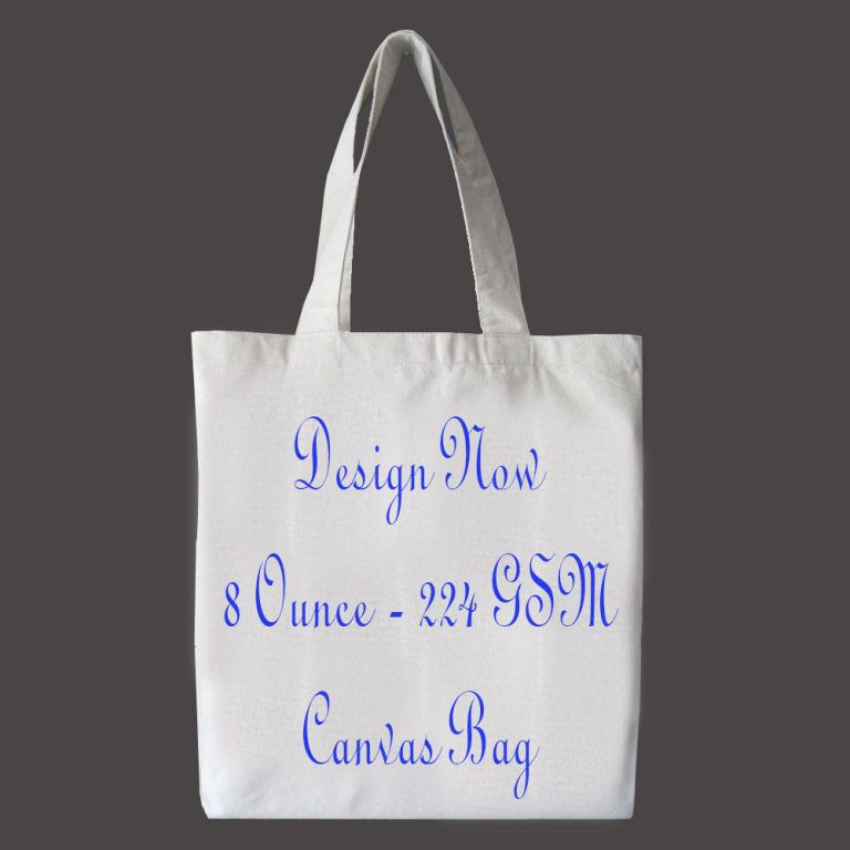 custom printed cotton canvas tote bags online