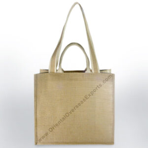 Jute Bag With Two Set of Cotton Web Handles