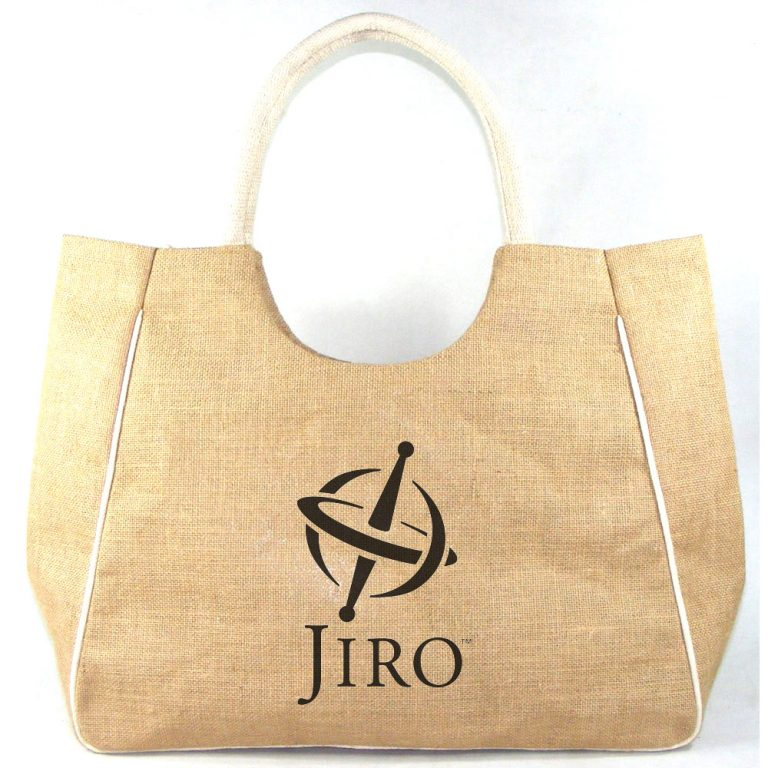 Jute Beach Bag # 2157 ready to be personalized