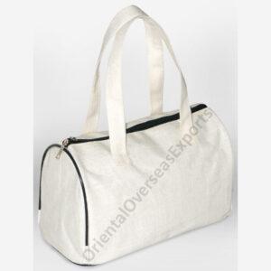 juco handbag with luxury satin inside