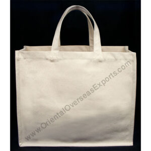 Natural Cotton Canvas Bag