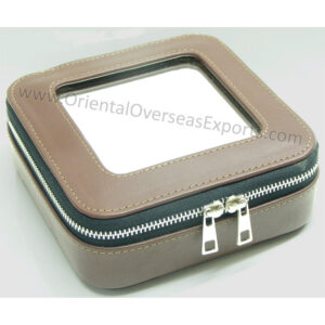 real leather jewelry box