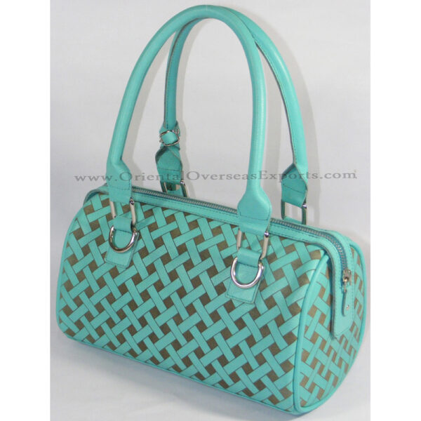 Engraved Real Leather Handbag made from Genuine Cow Leather