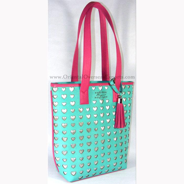 Real Leather Laser Cut Handbag