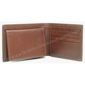 custom embossed wallet