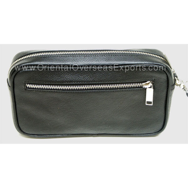 real leather cosmetic bag