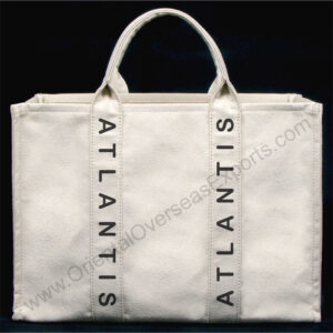 luxury canvas bag