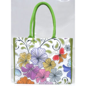 Digitally Printed Canvas Shopping Bag