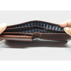 top view of - Real Leather Wallet # T1-333